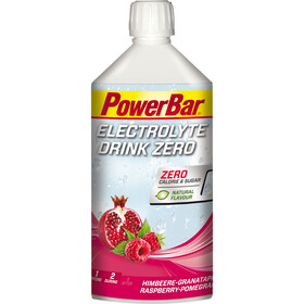PowerBar Boisson Électrolyte 1l, Raspberry-Pomegranate Zero Sugar